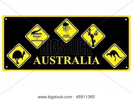 Sinais australianas