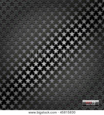 Star lite dynamic metal background