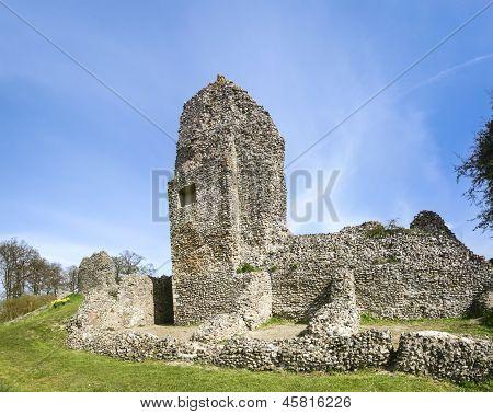 Ruínas do Castelo de Berkhamsted Hertfordshire