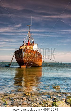 Old trawler