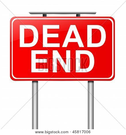 Dead End Concept.
