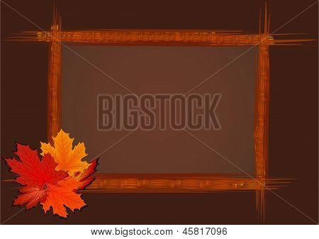 Abstract Wooden Frame.