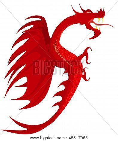 Heraldry, Red Dragon.
