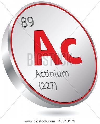 elemento actinio