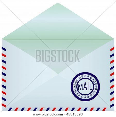 Mail Envelope Opened.