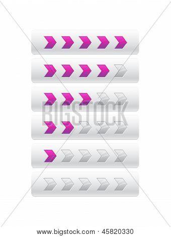 Loader From Purple Arrows