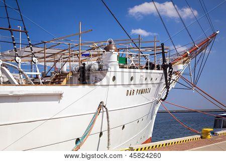 GDYNIA, POLAND - MAY 19: Polish maritime museum ship