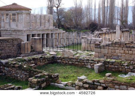 Ruins In Aphrodisias