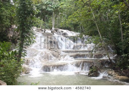 Waterfall In Jamica