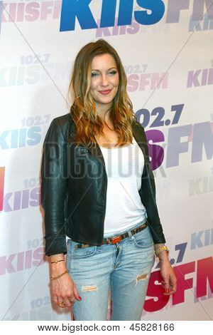 LOS ANGELES - MAY 11:  Katie Cassidy attends the 2013 Wango Tango concert produced by KIIS-FM at the Home Depot Center on May 11, 2013 in Carson, CA