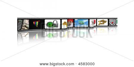 Business Film Strip