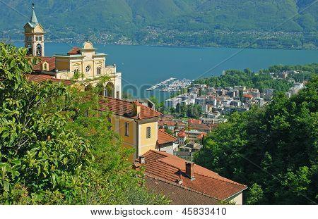 Madonna del Sasso,Locarno,Lake Maggiore