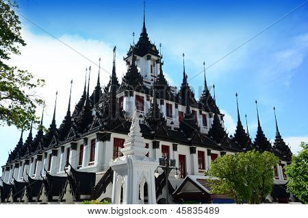 Loha Prasart in Wat Rachanadda Temple