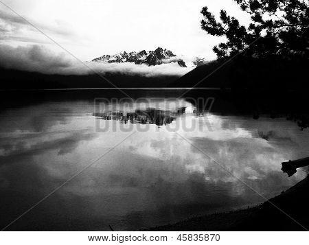 Misty Redfish Lake