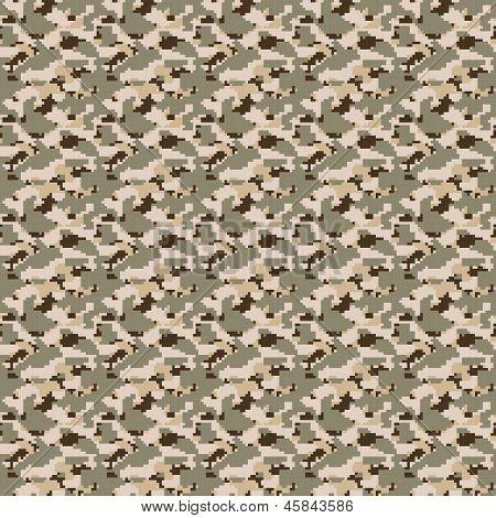 Digital Desert Camouflage