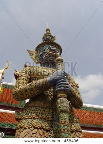 Thailand Bangkok Decorative Statue