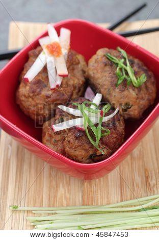 Meatballs Asian Style