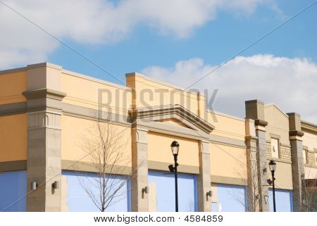 Reatail Store Building Exterior