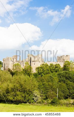 ruins of Ludlow Castle, Shropshire, England