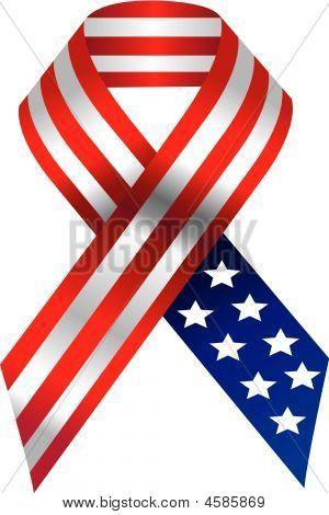 Vector Usa Ribbon
