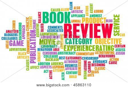 Book Review Word Cloud as a Concept