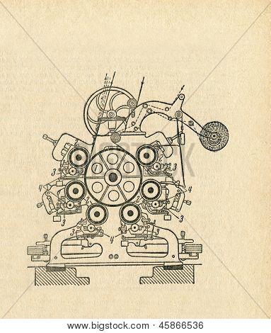 Old Apparatus Diagram