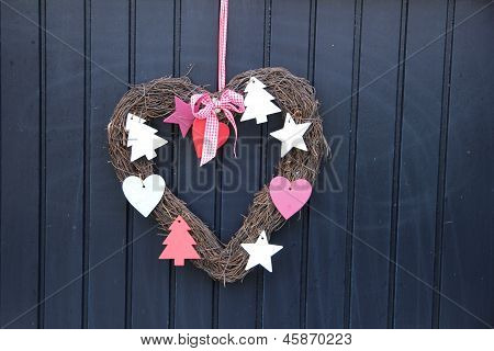 Heart Shaped Wreath