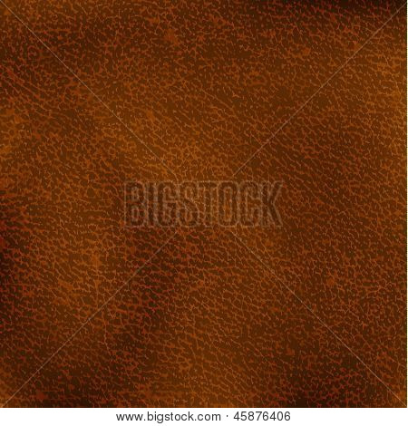 Brown leather texture - eps10