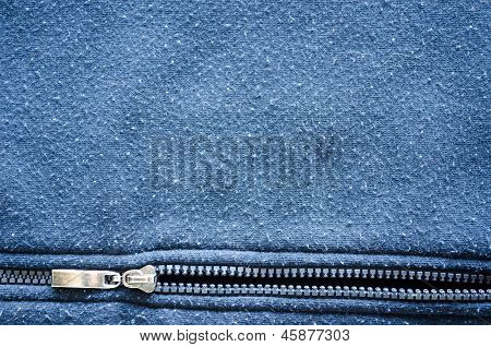 Robe Horizontal Zipper Fabric Background