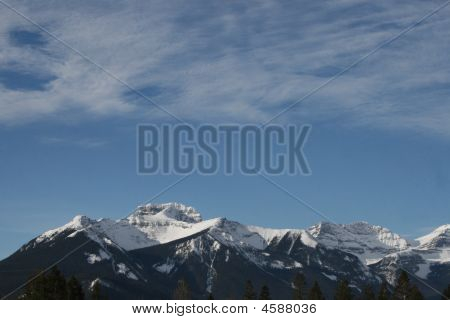 Rocky Mountains Abstract