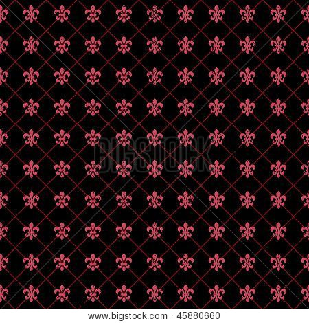 Seamless Valentine Vector Background