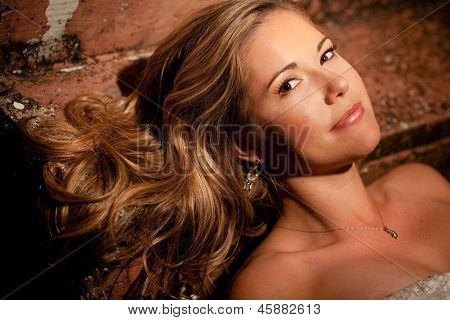 Glamorous Woman With Long Hair