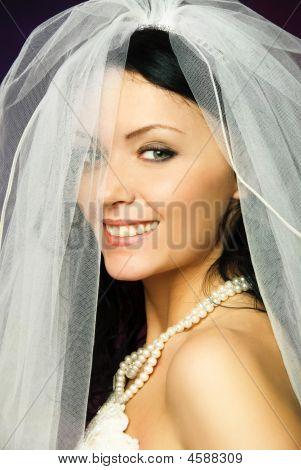 Sexy Brunette Bride