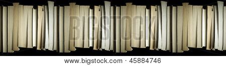 Stacked Books Background