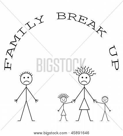 Familie brechen