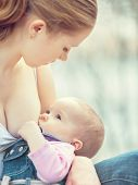 foto of breastfeeding  - breastfeeding - JPG