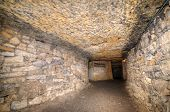 picture of catacombs  - Old history Catacombs Odessa Ukraine  - JPG