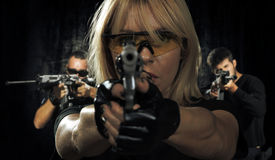 picture of gunshot  - special tactics team ready for action - JPG