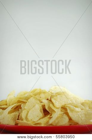 Greasy Potato Chips