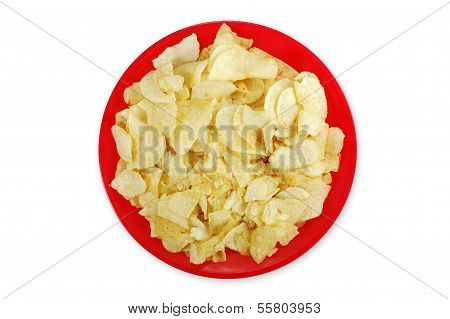 Bowl Of Potato Chips