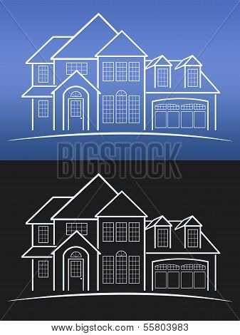 House Blue Prints