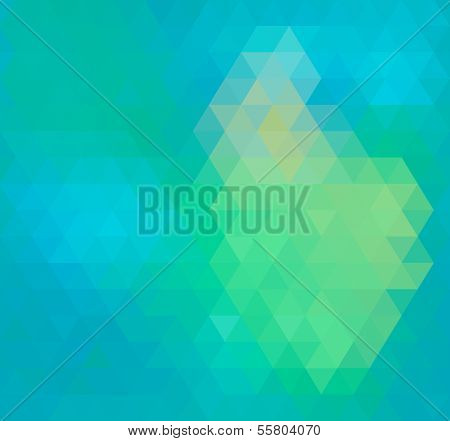 Geometric Triangle Neon Seamless background, pattern, vector.  Pattern of geometric shapes. Texture