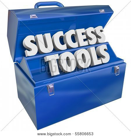 Success Tools Toolbox Succeeding Goal Skills