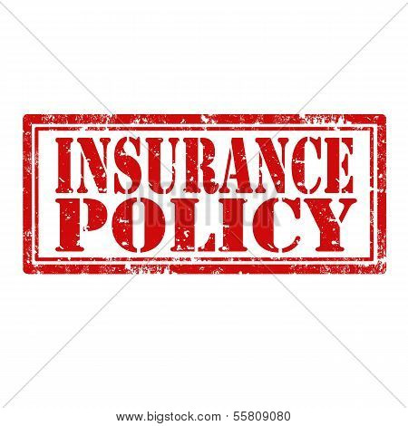 Insurance Policy-stamp