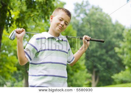 Boy-golf