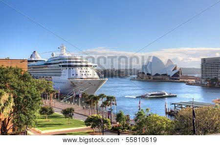 circular Quay Sydney, Australien