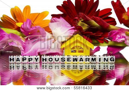 Housewarming With Flowers