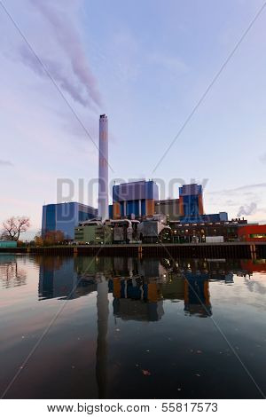 Modern Waste-to-energy Plant Oberhausen Germany