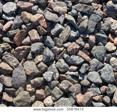 Gravel For Background