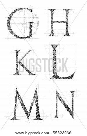 Classic Font 02